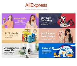 Aliexpress catalogue ( 3 days ago )
