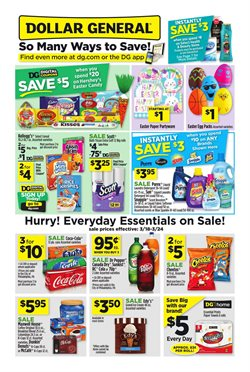 Dollar General deals in the Humble TX weekly ad