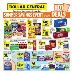 Dollar General deals in the Garden Grove CA weekly ad