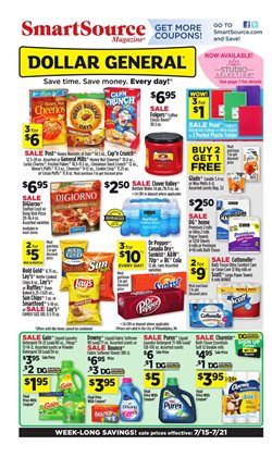Dollar General deals in the Dearborn Heights MI weekly ad