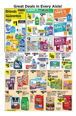 Clorox deals in the Dollar General weekly ad in New York