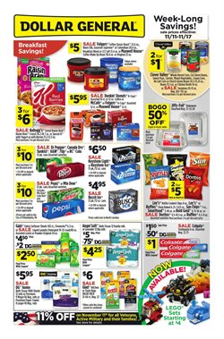 Dollar General deals in the San Antonio TX weekly ad