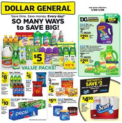 Dollar General deals in the Knoxville TN weekly ad