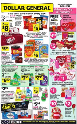 Discount Stores deals in the Dollar General weekly ad in Anderson SC