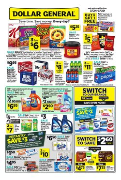Dollar General deals in the Santa Ana CA weekly ad