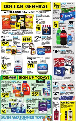 Dollar General deals in the Houston TX weekly ad