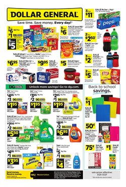 Discount Stores deals in the Dollar General weekly ad in Las Vegas NV