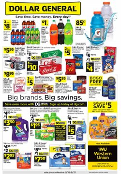 Dollar General deals in the Saint Louis MO weekly ad
