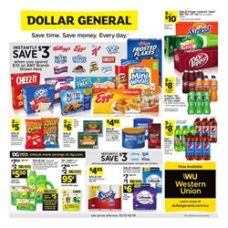 Discount Stores deals in the Dollar General weekly ad in Lancaster CA
