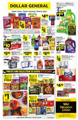Dollar General deals in the Merced CA weekly ad