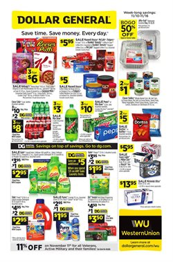 Discount Stores deals in the Dollar General weekly ad in Katy TX