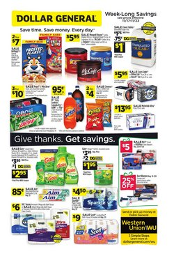 Dollar General deals in the Tempe AZ weekly ad