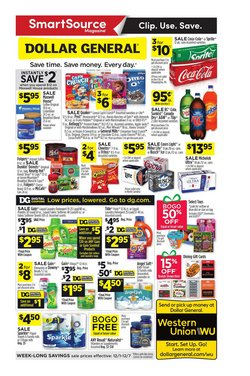 Discount Stores deals in the Dollar General weekly ad in Sterling VA