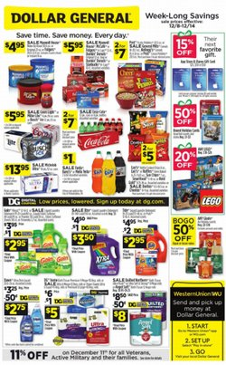 Dollar General deals in the Valparaiso IN weekly ad