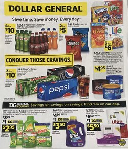 Dollar General deals in the Lansing MI weekly ad