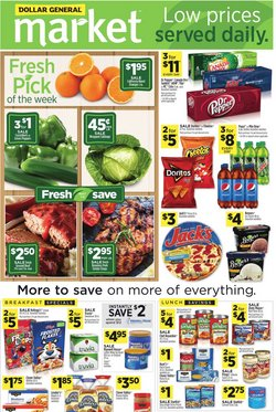 Discount Stores offers in the Dollar General catalogue in Fresno CA ( Expires today )