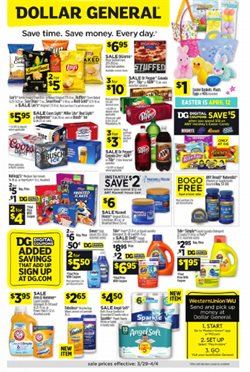 Discount Stores offers in the Dollar General catalogue in Tempe AZ ( Published today )