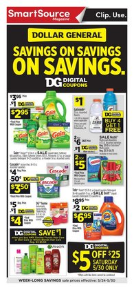 Discount Stores offers in the Dollar General catalogue in Carson CA ( Expires tomorrow )