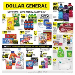 Discount Stores offers in the Dollar General catalogue in Sacramento CA ( Expires today )