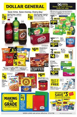 Discount Stores offers in the Dollar General catalogue in Fullerton CA ( 1 day ago )