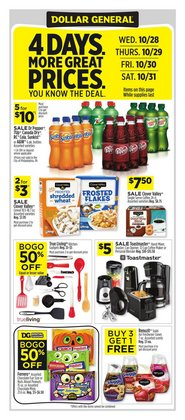 Dollar General catalog ( Expires today)