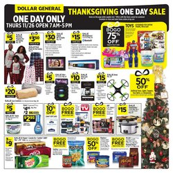 Discount Stores offers in the Dollar General catalogue in Huntsville AL ( Expires tomorrow )