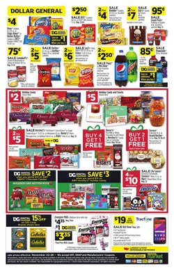 Candy deals in Dollar General