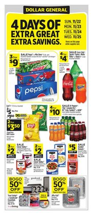 Discount Stores offers in the Dollar General catalogue in Overland Park KS ( Expires today )