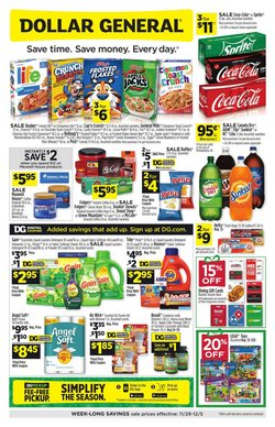 Discount Stores offers in the Dollar General catalogue ( Expires tomorrow )