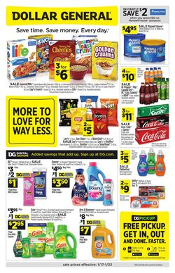 Discount Stores offers in the Dollar General catalogue in Joliet IL ( Expires tomorrow )