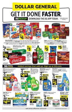 Discount Stores offers in the Dollar General catalogue in Dallas TX ( Expires tomorrow )