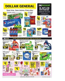 Mother's Day deals in the Dollar General catalog ( Expires today)
