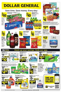 Dollar General deals in the Dollar General catalog ( Published today)
