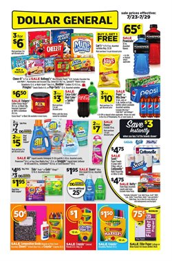 Detergent deals in the Dollar General weekly ad in Houston TX