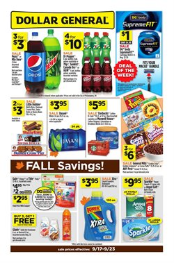 Dollar General deals in the Johnstown PA weekly ad