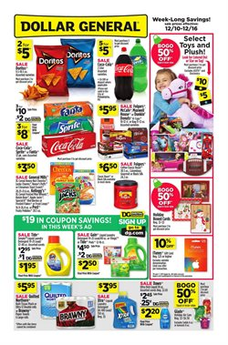 Discount Stores deals in the Dollar General weekly ad in Columbus IN