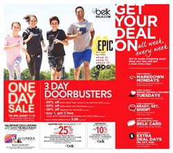 West Town Mall deals in the Belk weekly ad in Knoxville TN
