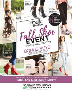 Belk deals in the Raleigh NC weekly ad