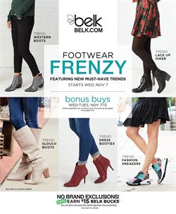 Cross Creek Mall deals in the Belk weekly ad in Fayetteville NC