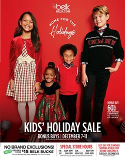 Department Stores deals in the Belk weekly ad in Concord NC