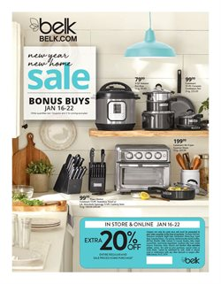 Department Stores deals in the Belk weekly ad in Knoxville TN