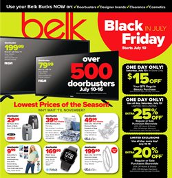 Department Stores deals in the Belk weekly ad in Stone Mountain GA
