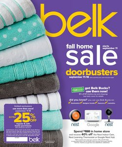 Belk deals in the Fort Worth TX weekly ad