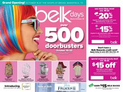 Department Stores deals in the Belk weekly ad in Roswell GA