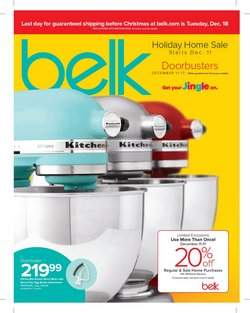 Department Stores deals in the Belk weekly ad in North Las Vegas NV