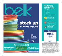 Department Stores offers in the Belk catalogue in Mesquite TX ( Expires tomorrow )