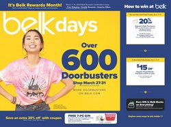 Belk catalogue ( Expires tomorrow )