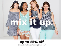 Belk deals in the Jacksonville FL weekly ad