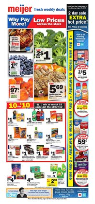 Discount Stores deals in the Meijer weekly ad in East Lansing MI
