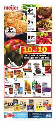 Meijer deals in the Grand Rapids MI weekly ad